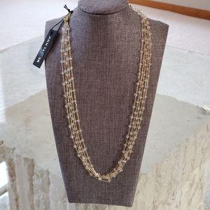 Ann Taylor slider beaded necklace